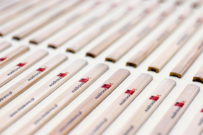 ołówki zadrukowane